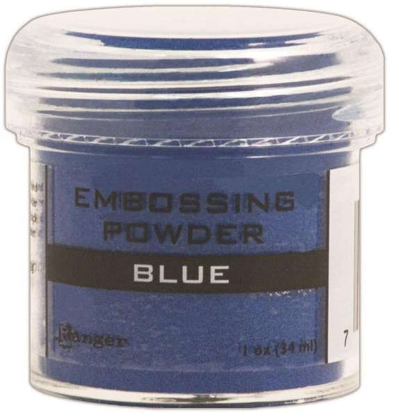 Embossing Powder - Blue - Ranger