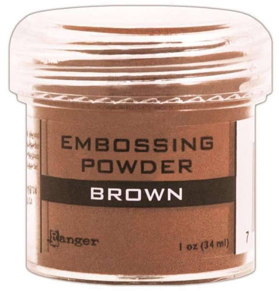 Embossing Powder - Brown - Ranger