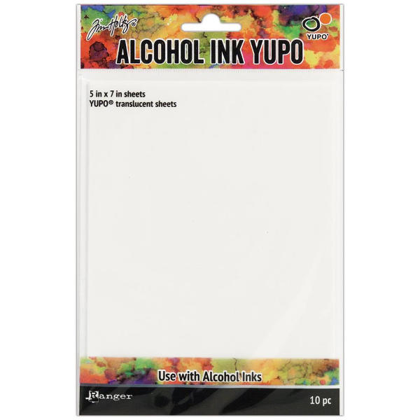 Tim Holtz - Alcohol Ink YUPO Paper Pack 5 x 7 Translucent - Ranger