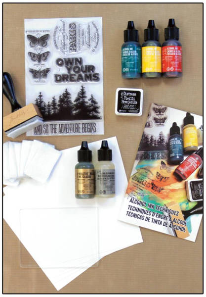 Alcohol Ink Kit - Ranger-1