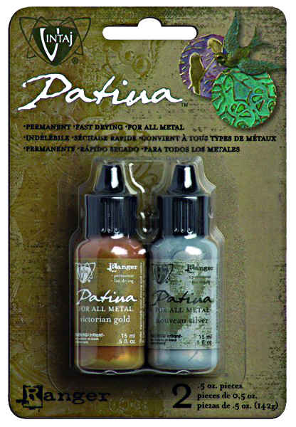 Vintaj Natural Brass Patina Kit - Treasured Heirloom - Ranger
