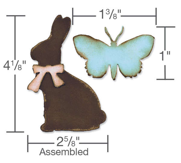 Bigz Die - Alterations Easter Elements - Tim Holtz - Sizzix-1