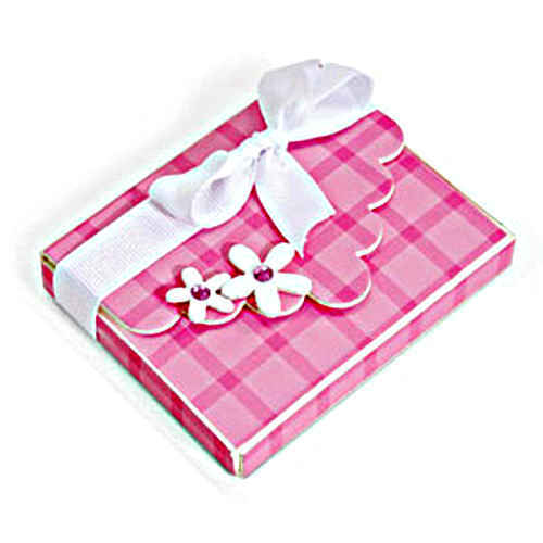 Bigz XL Die - Box With Scallop Flap & Flowers - Sizzix