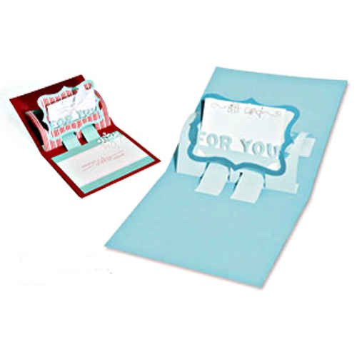 Bigz XL Die - Gift Card Holder With Phrase For You - Sizzix