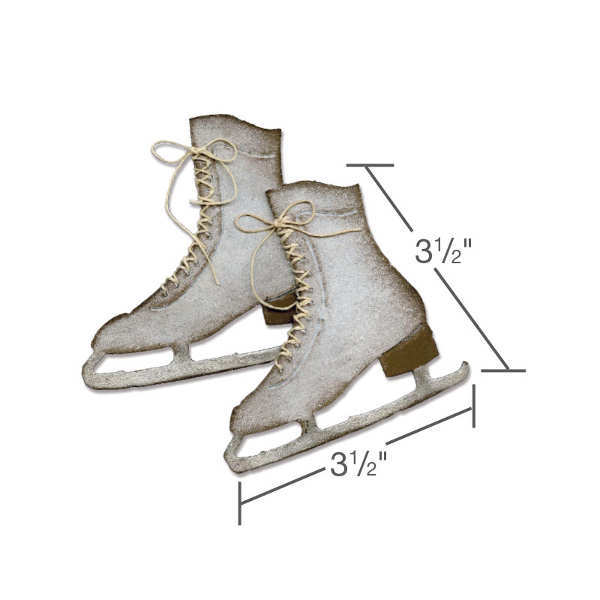 Bigz Die - Alterations Ice Skates - Tim Holtz - Sizzix-1