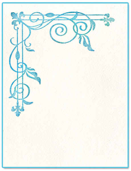 Ink-its LetterPress Plate - Corner Trellis, by Rachael Bright - Sizzix