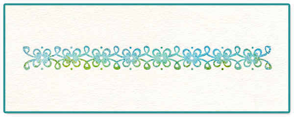 Ink-its LetterPress Plate - Vintage Lace, by Rachael Bright - Sizzix