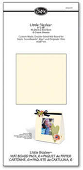 Little Sizzles - Mat Board Pack Cream - Sizzix