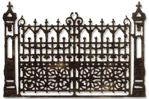 Thinlits Die - Alterations Gothic Gate - Tim Holtz - Sizzix