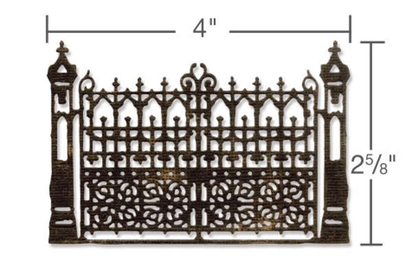 Thinlits Die - Alterations Gothic Gate - Tim Holtz - Sizzix-2