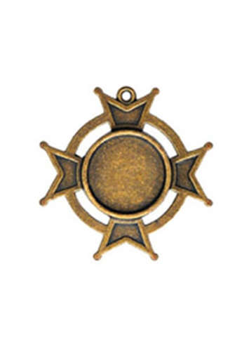 A Gilded Life - Bezels - Iron Cross Bezel Small - Bronze - Spellbinders