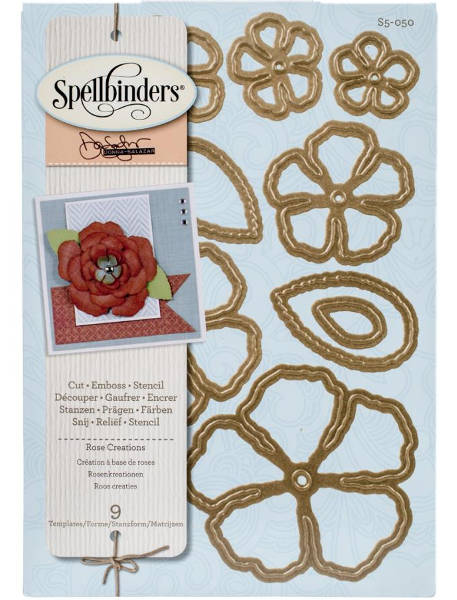 Shapeabilities - Rose Creations - Spellbinders