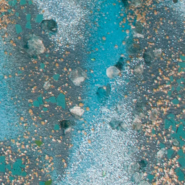 Embossing Powder - Elements - Teal Encrusted Jewel Kit - Stampendous-1