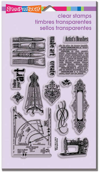 Perfectly Clear - Stamps - Charmed Art Set - Stampendous