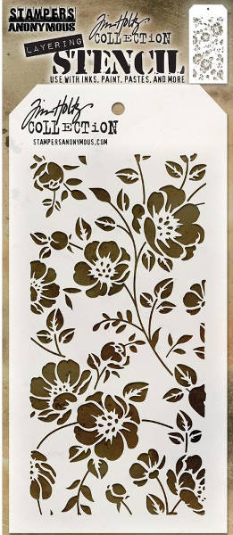 Layering Stencils - Floral by Tim Holtz - Stampers Anonymous