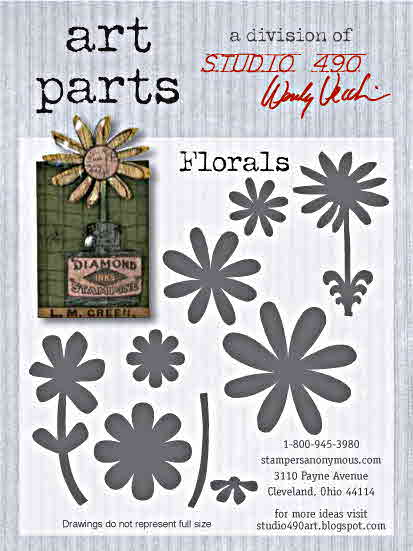 Wendy Vecchi Art Parts - Florals - Stampers Anonymous
