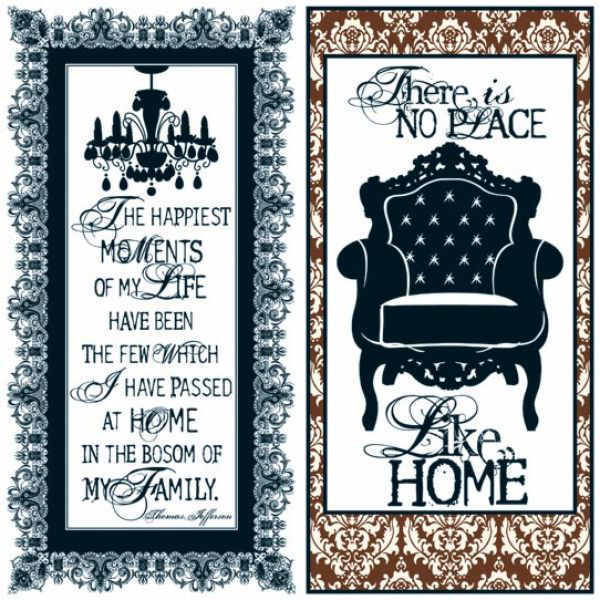 Welcome Home -   Quote 12 x 12 Double-sided Paper - Teresa Collins