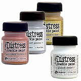 Distress Crackle Paints