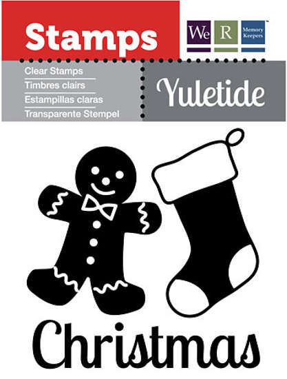 Clear Stamps - Yuletide - Christmas - We R Memory Keepers