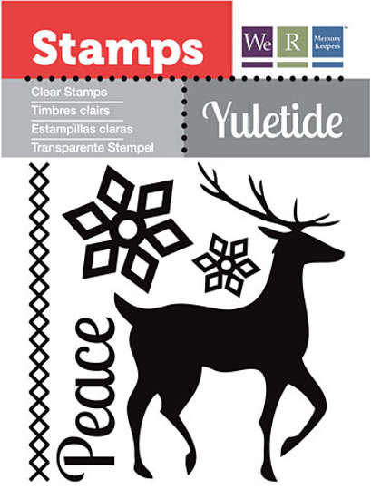 Clear Stamps - Yuletide - Peace - We R Memory Keepers