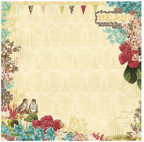 Garden Gala -  Vellum - Webster's Pages