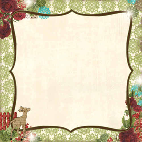 Home for the Holidays -  Wish Upon A Star 12 x 12 Double-sided Paper - Webster's Pages-1